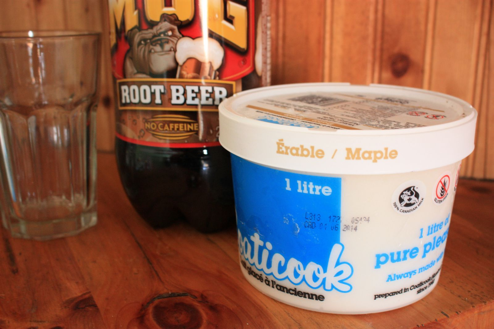Test culinaire, le Root beer float