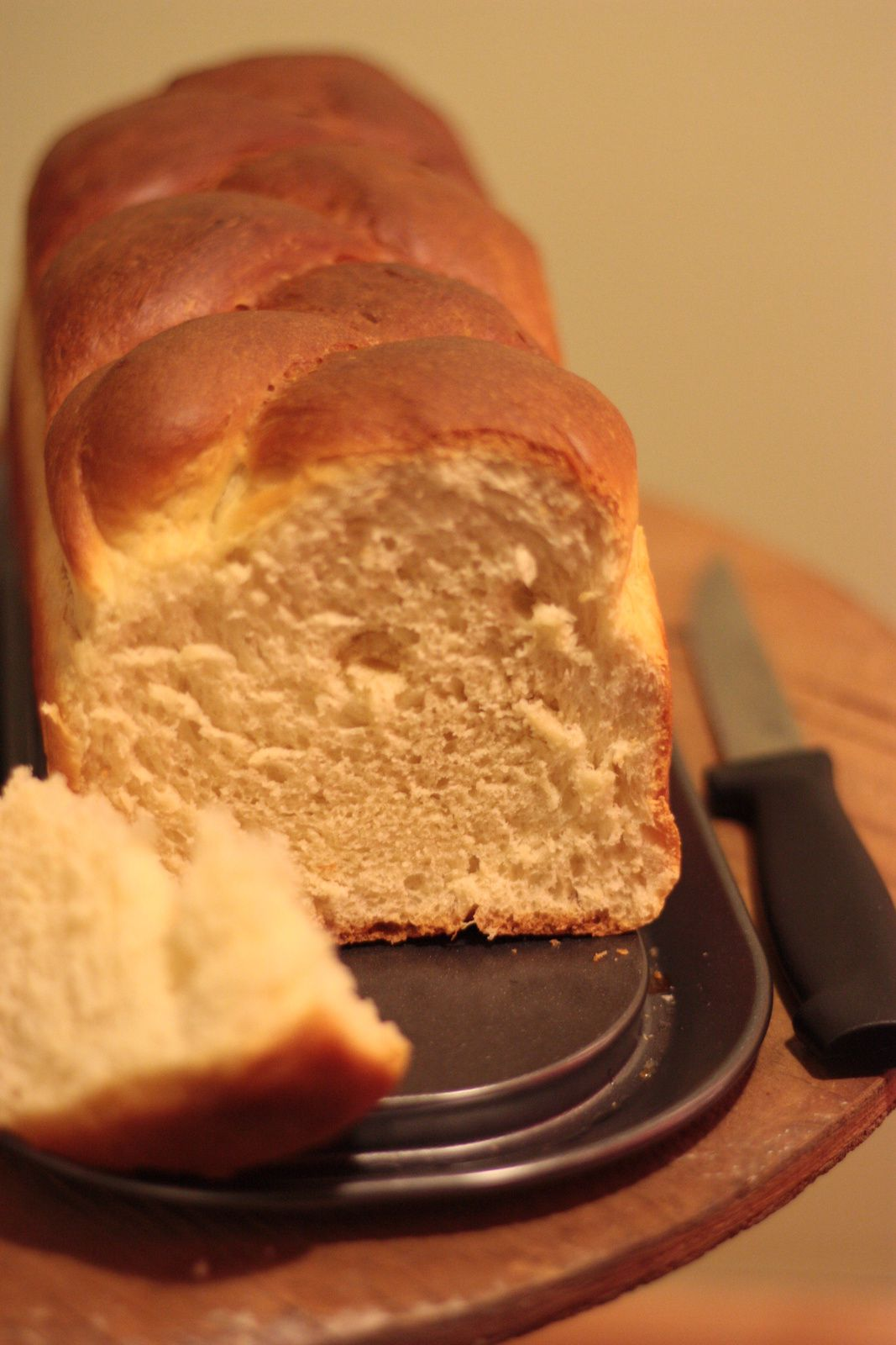 Brioche tressée (Machine à pain)