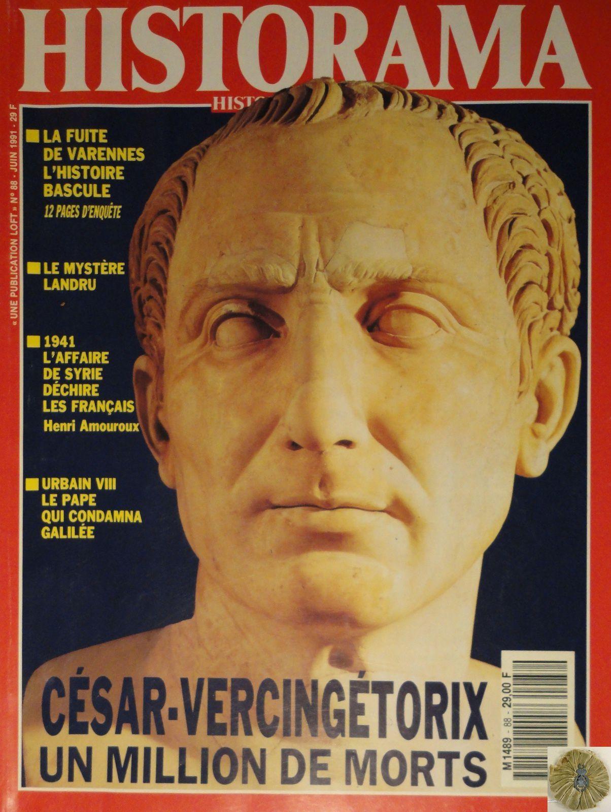 HISTORAMA NUMERO 88 - JUIN 1991 - JULES CESAR