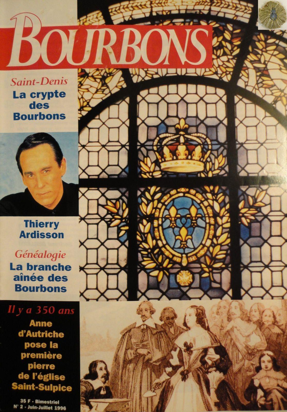 BOURBONS NUMÉRO 2 - JUIN-JUILLET 1996 (BIMESTRIEL 35 F)