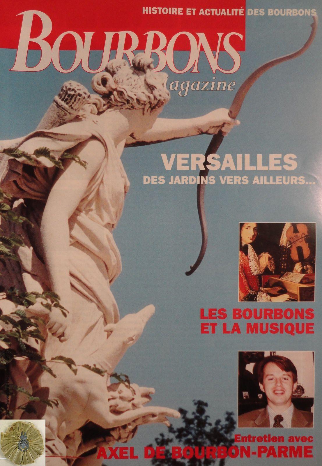 BOURBONS MAGAZINE NUMÉRO 10 - NOVEMBRE-DÉCEMBRE 1997 (BIMESTRIEL 35 F)