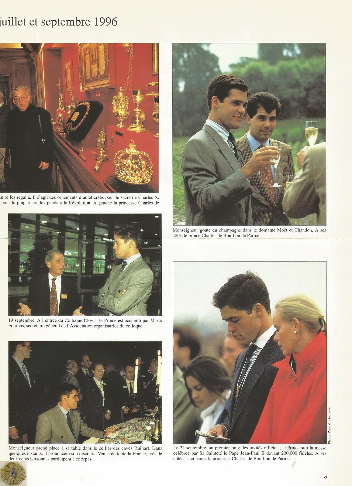 I.M.B. INFORMATIONS N° 1 - OCTOBRE 1996