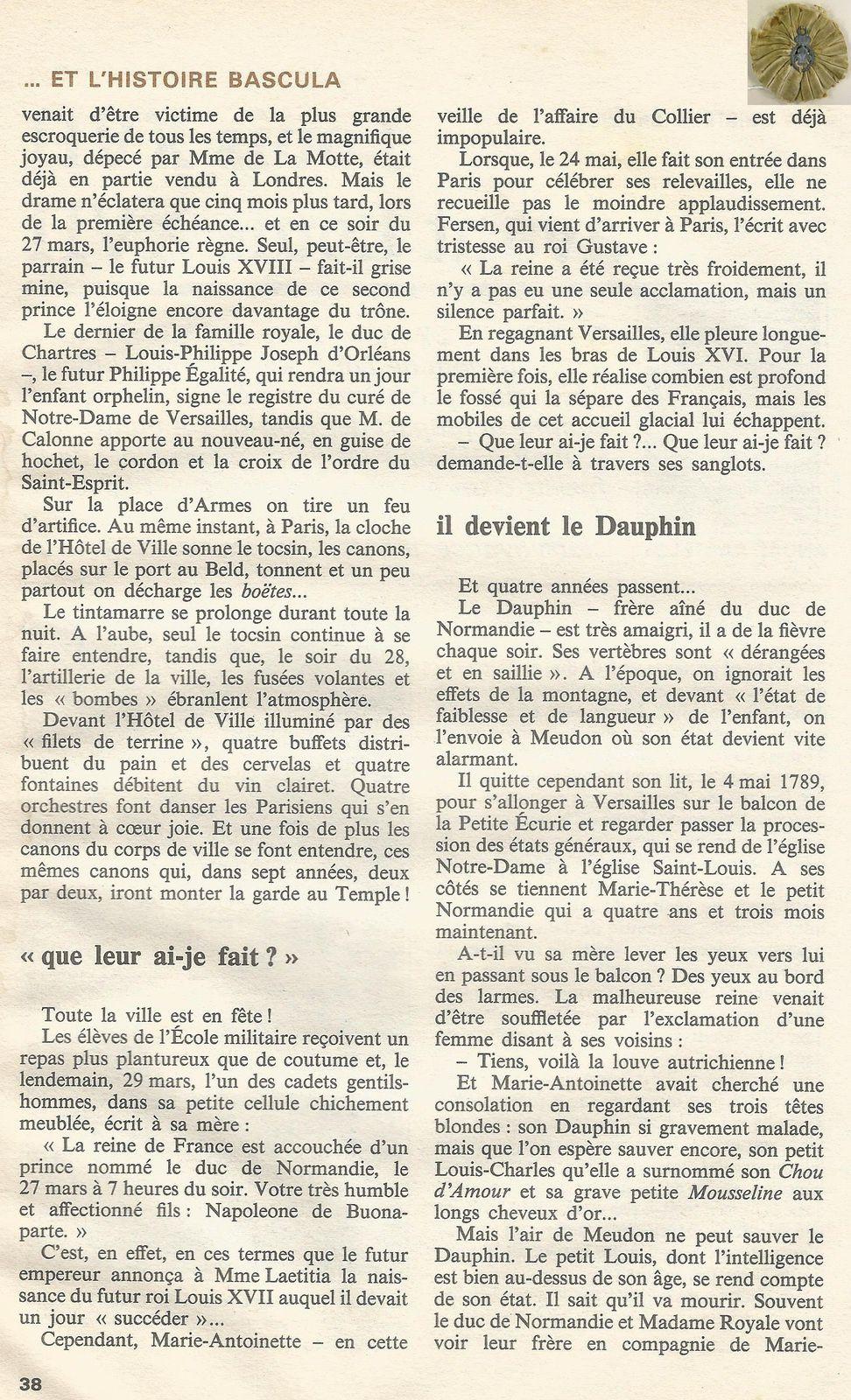 HISTORIA NUMÉRO 412 - MARS 1981