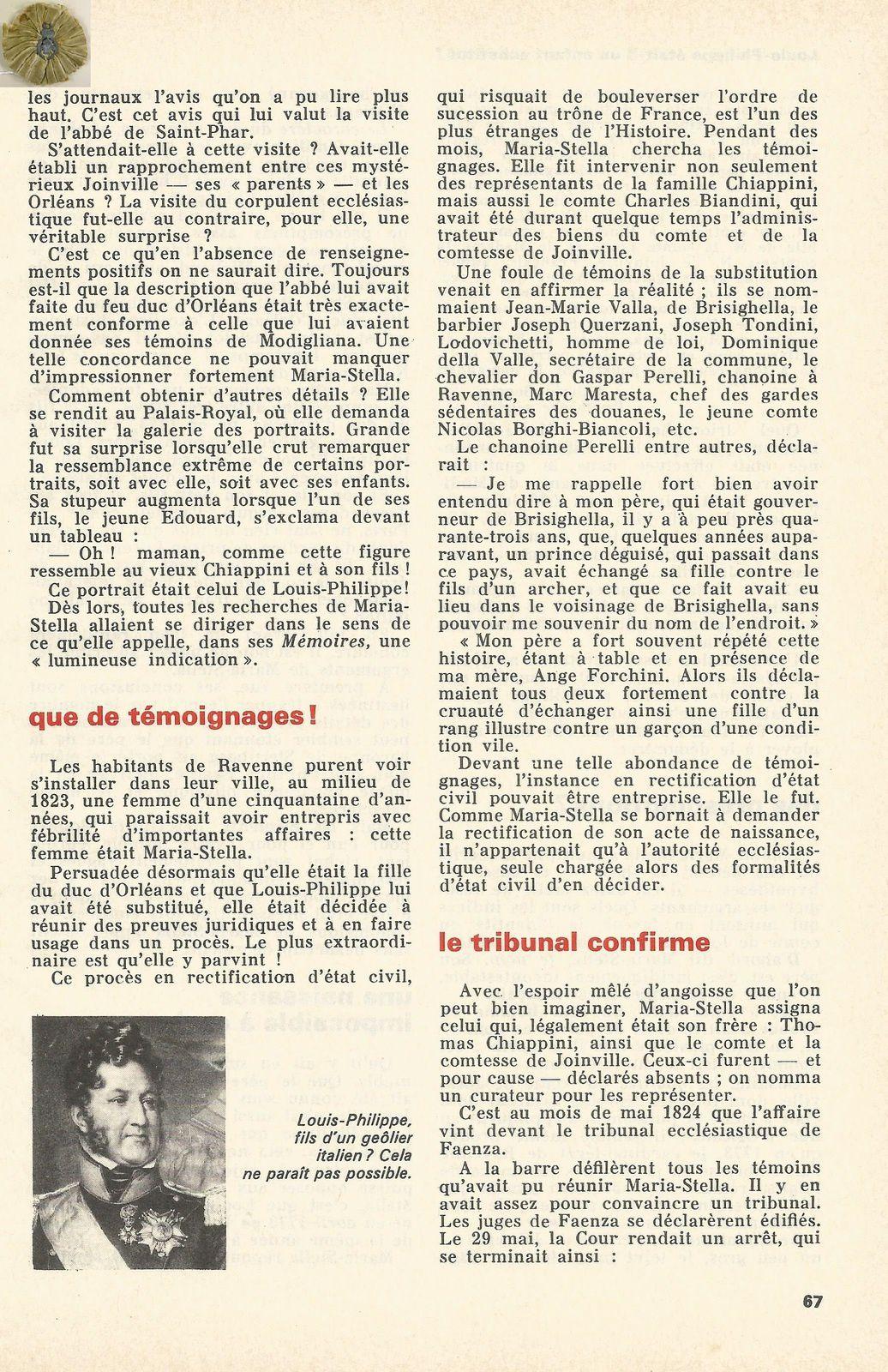 HISTORIA NUMÉRO 262 - SEPTEMBRE 1968
