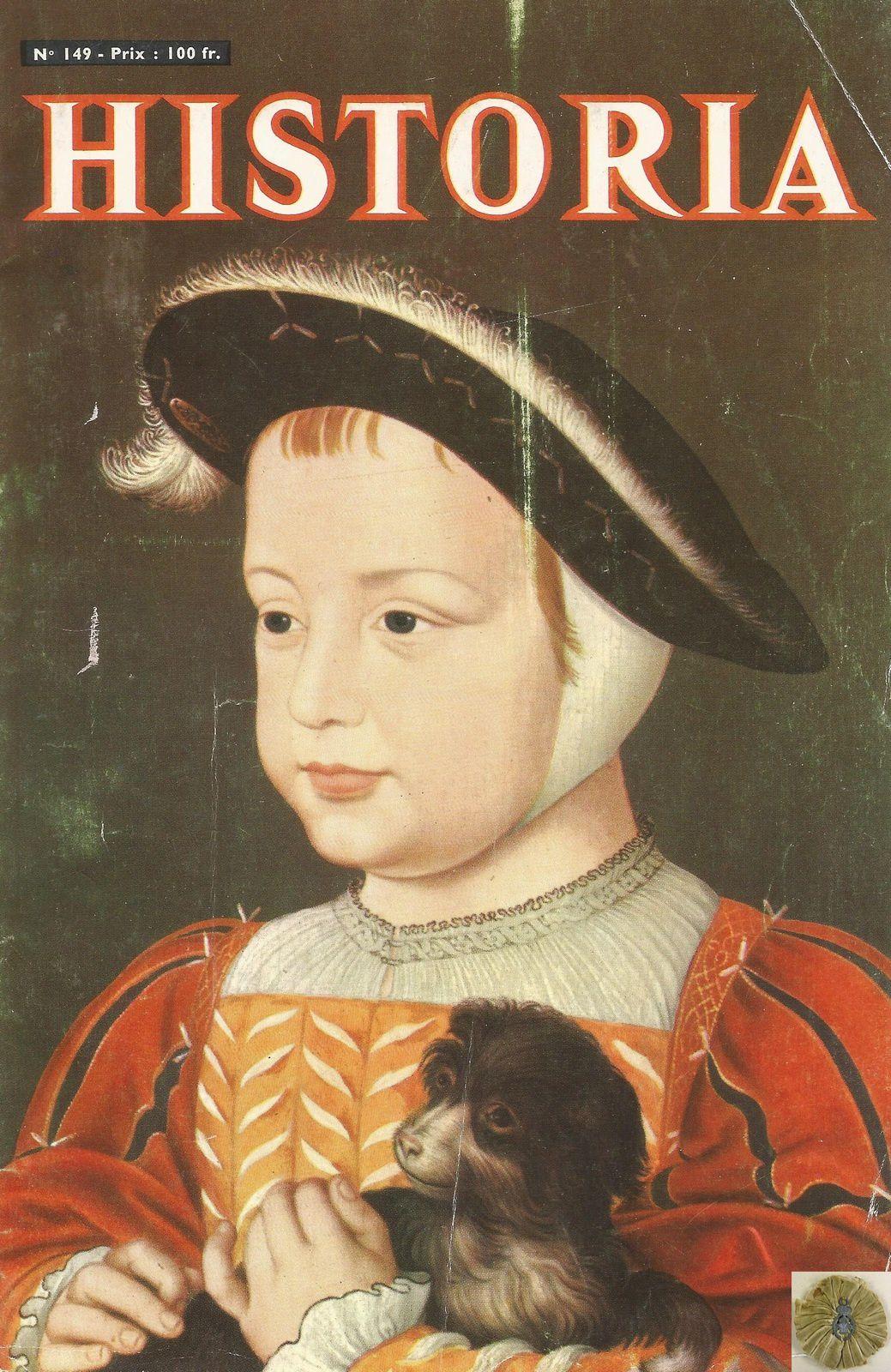 HISTORIA 149 - PORTRAIT D'HENRI II PAR FRANÇOIS CLOUET (CHANTILLY, MUSÉE CONDÉ)