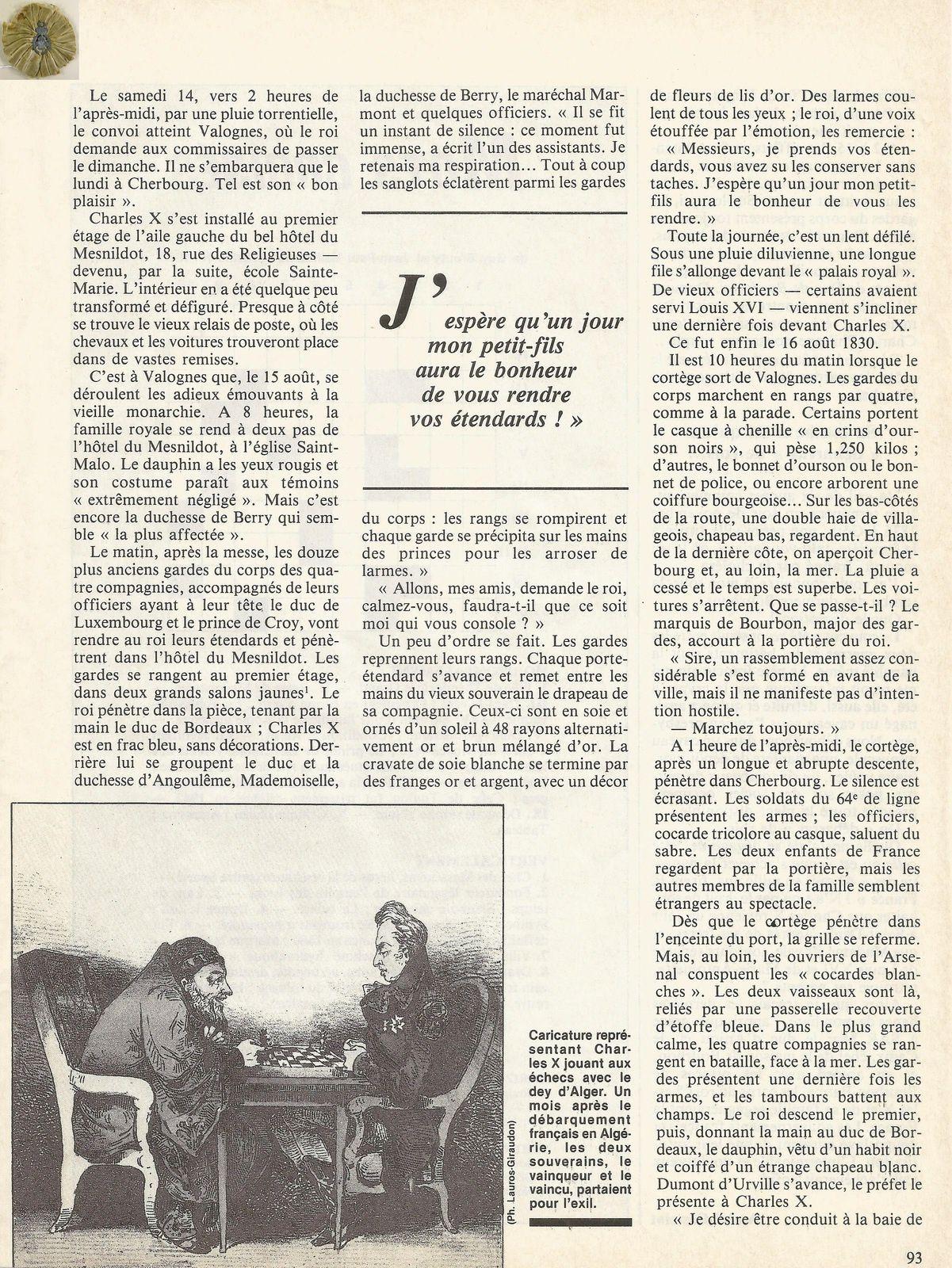HISTORAMA NUMÉRO 58 - DÉCEMBRE 1988