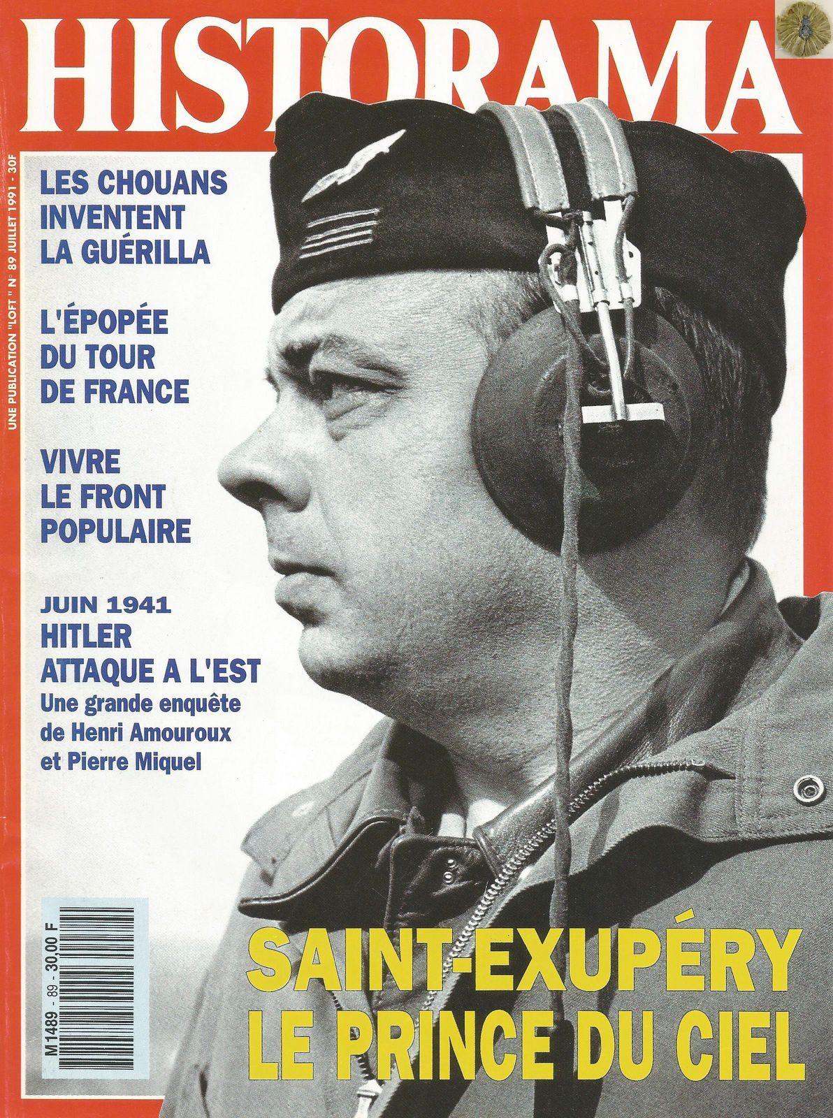 HISTORAMA 89 - JUILLET 1991 (PHOTO DE COUVERTURE JOHN PHILLIPS)