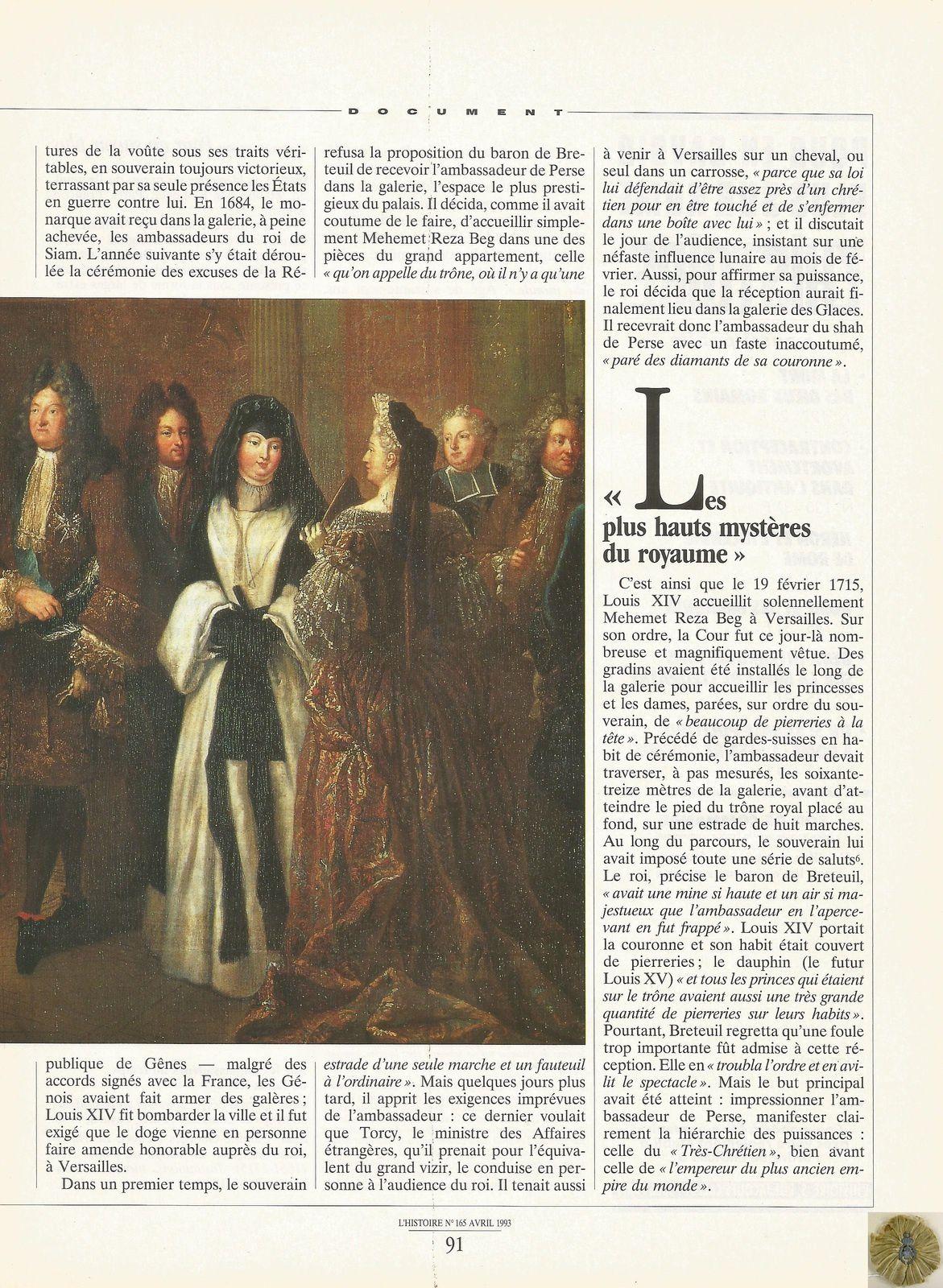 L'HISTOIRE NUMÉRO 165 - AVRIL 1993