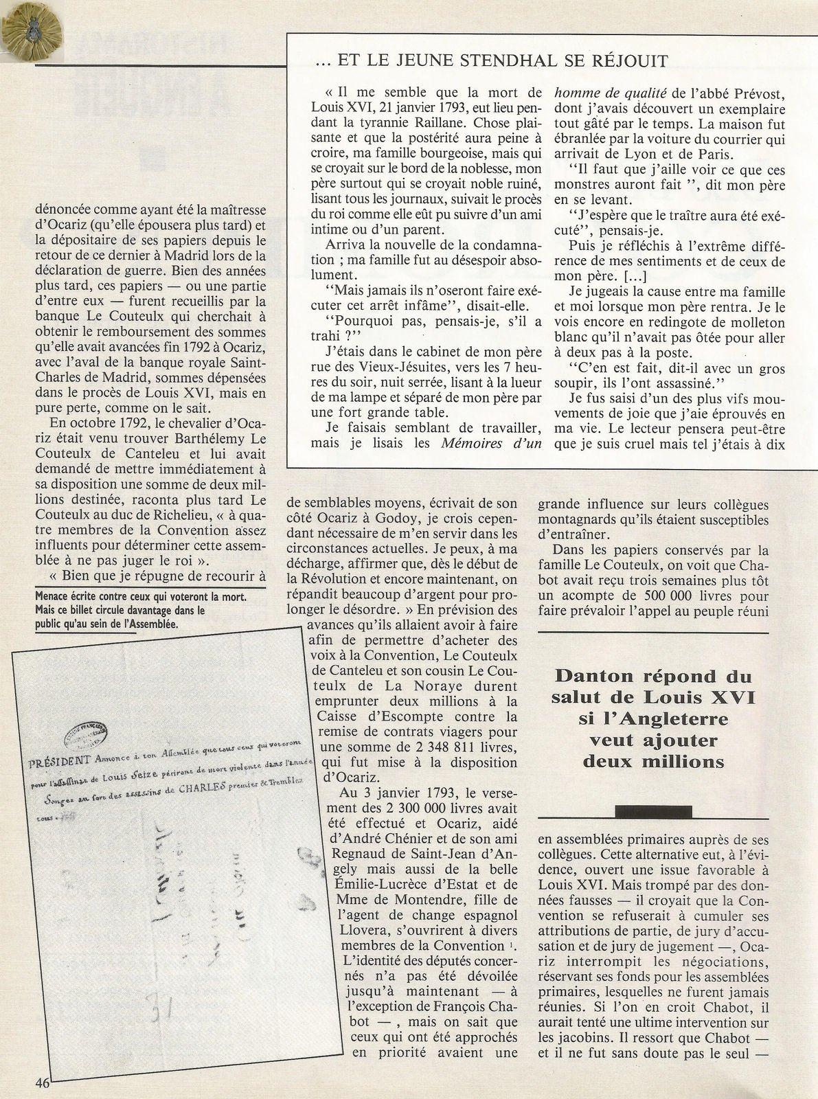 HISTORAMA NUMÉRO 107 - JANVIER 1993