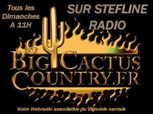 Ce 23/10 A 11H, Big Cactus Country Votre Emission Country Music