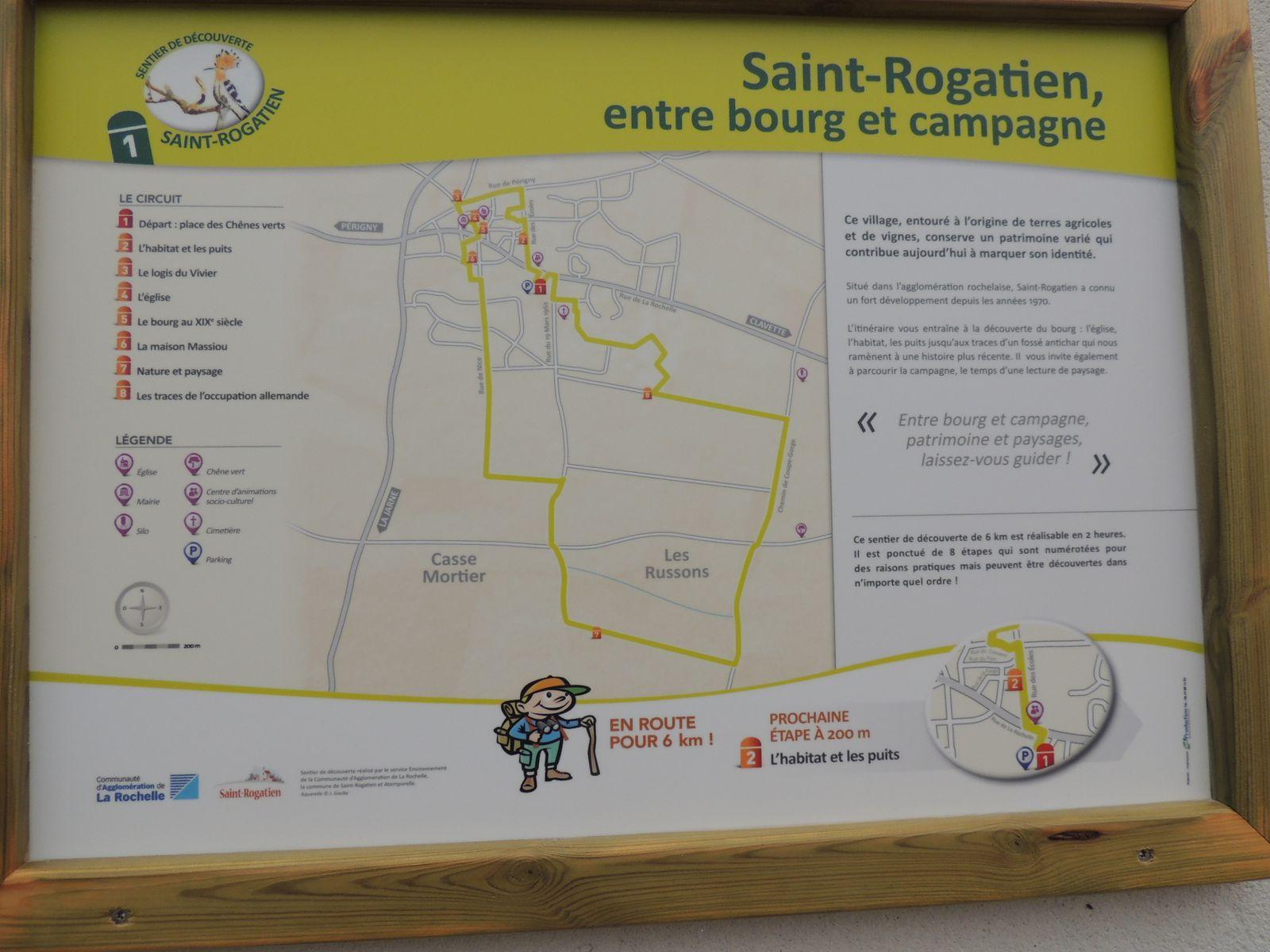 Encore un sentier à découvrir : Saint-Rogatien !