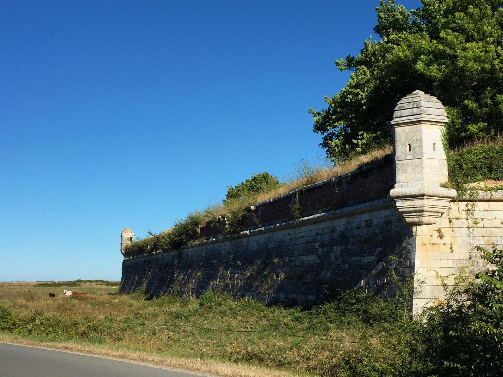 Remparts de Brouage.