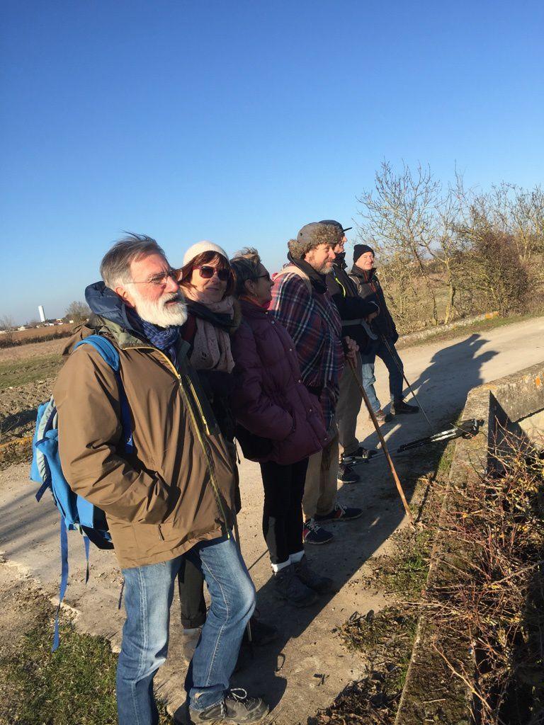 Promenade n° 13 de janvier 2017 :  Angles - La Faute-sur-Mer en Vendée
