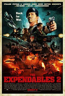 The Expendables 2: The boys are back in town!