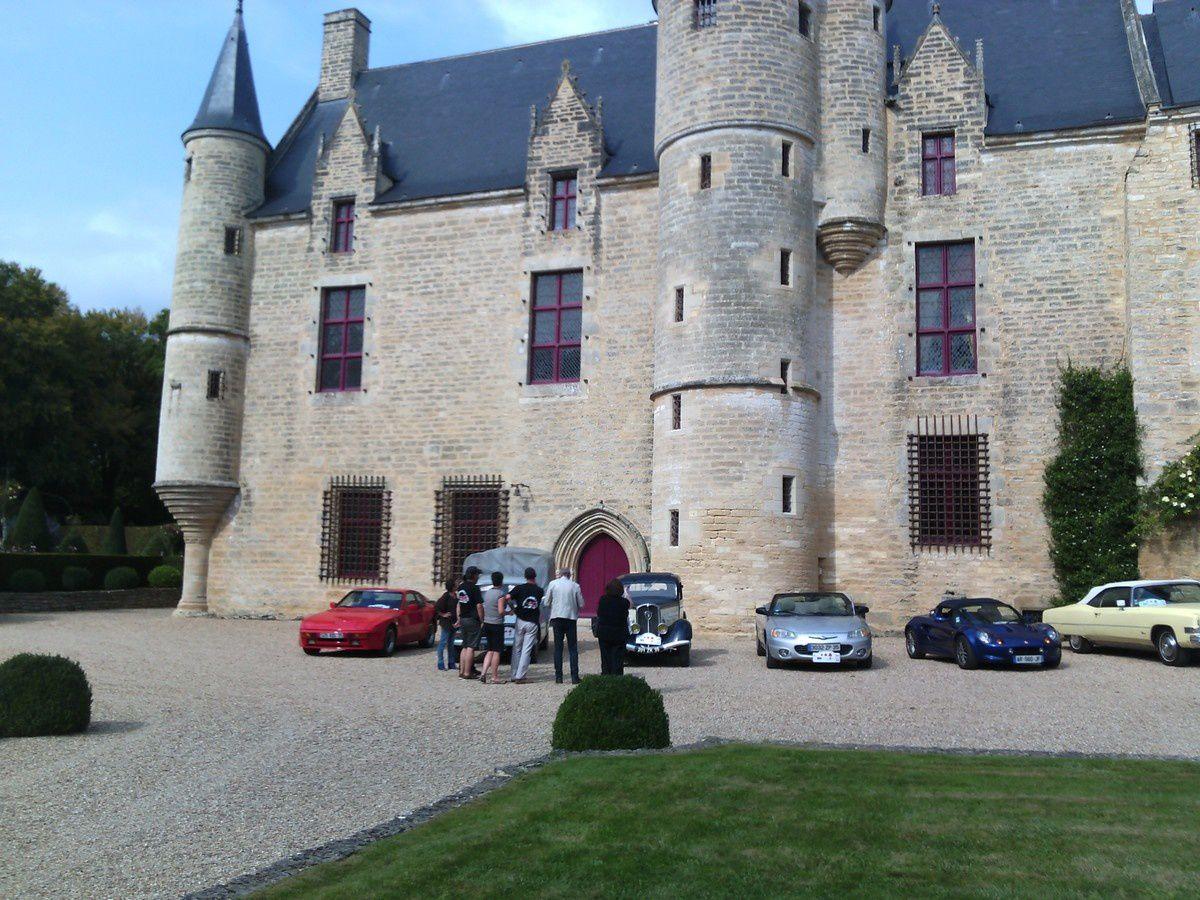 Sortie au chateau du HAC