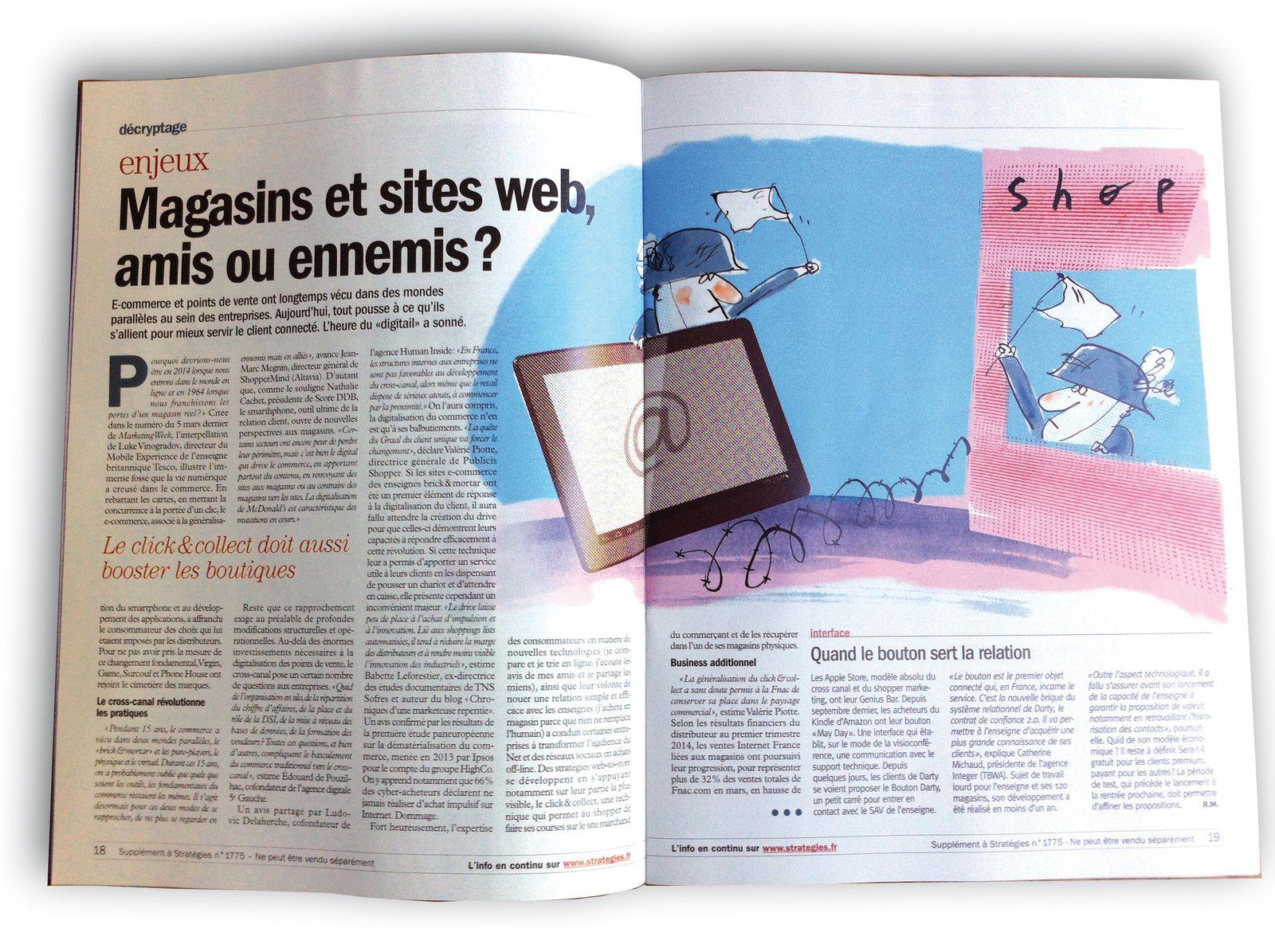 magazine Stratégie