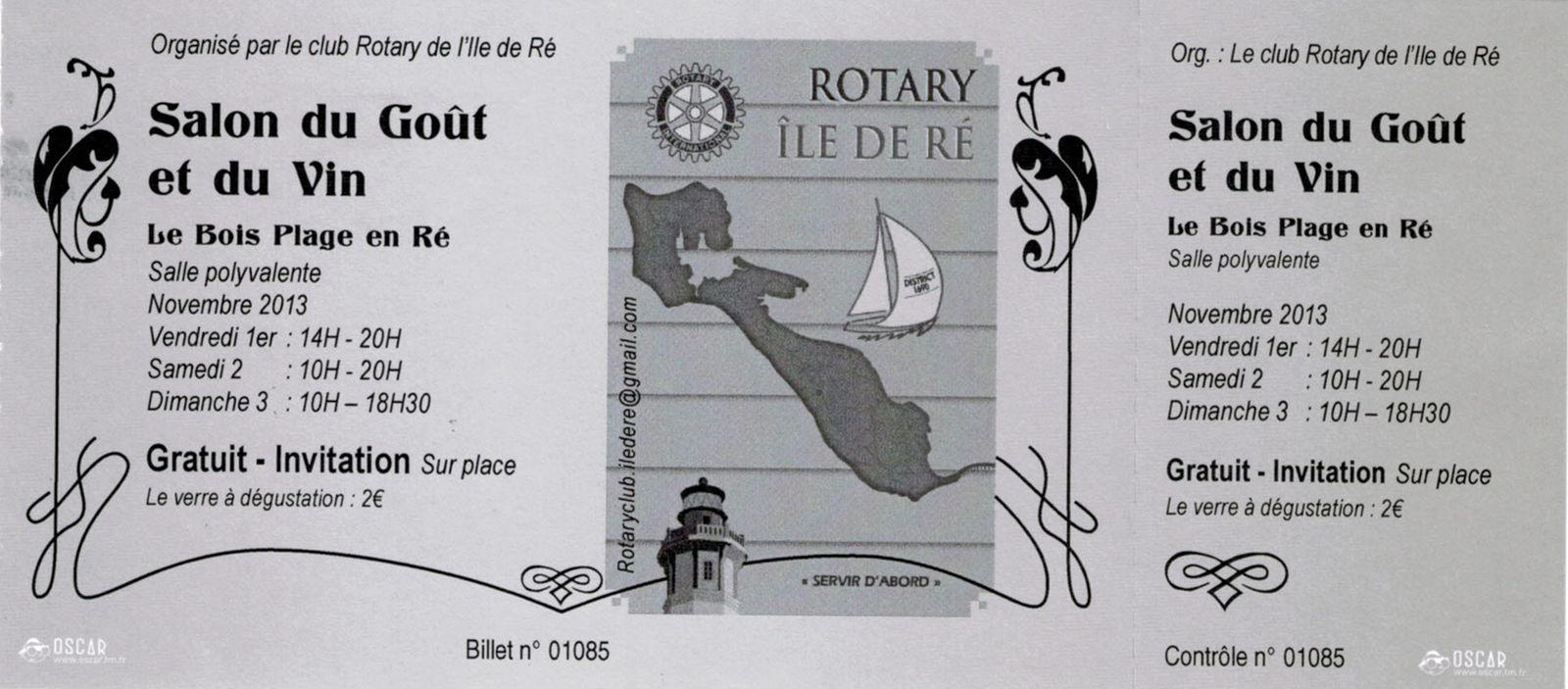 Salon du Gout et du Vin de l'Île de Ré