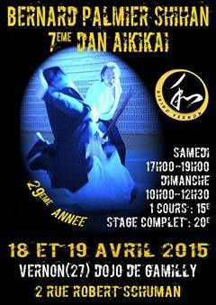 Stages WE 18+19 avril 2015