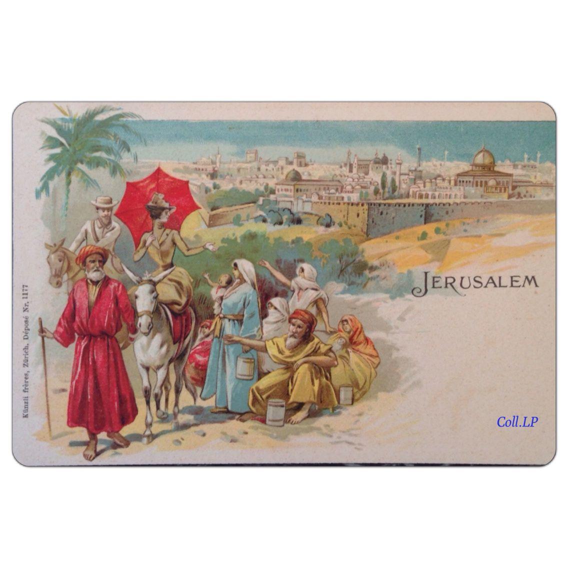 Voyage en terre sainte par l'éditeur Kunzli 1900