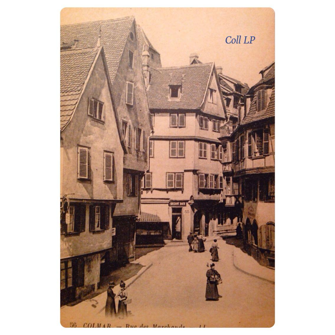 Commerces et vie Juive à Colmar
