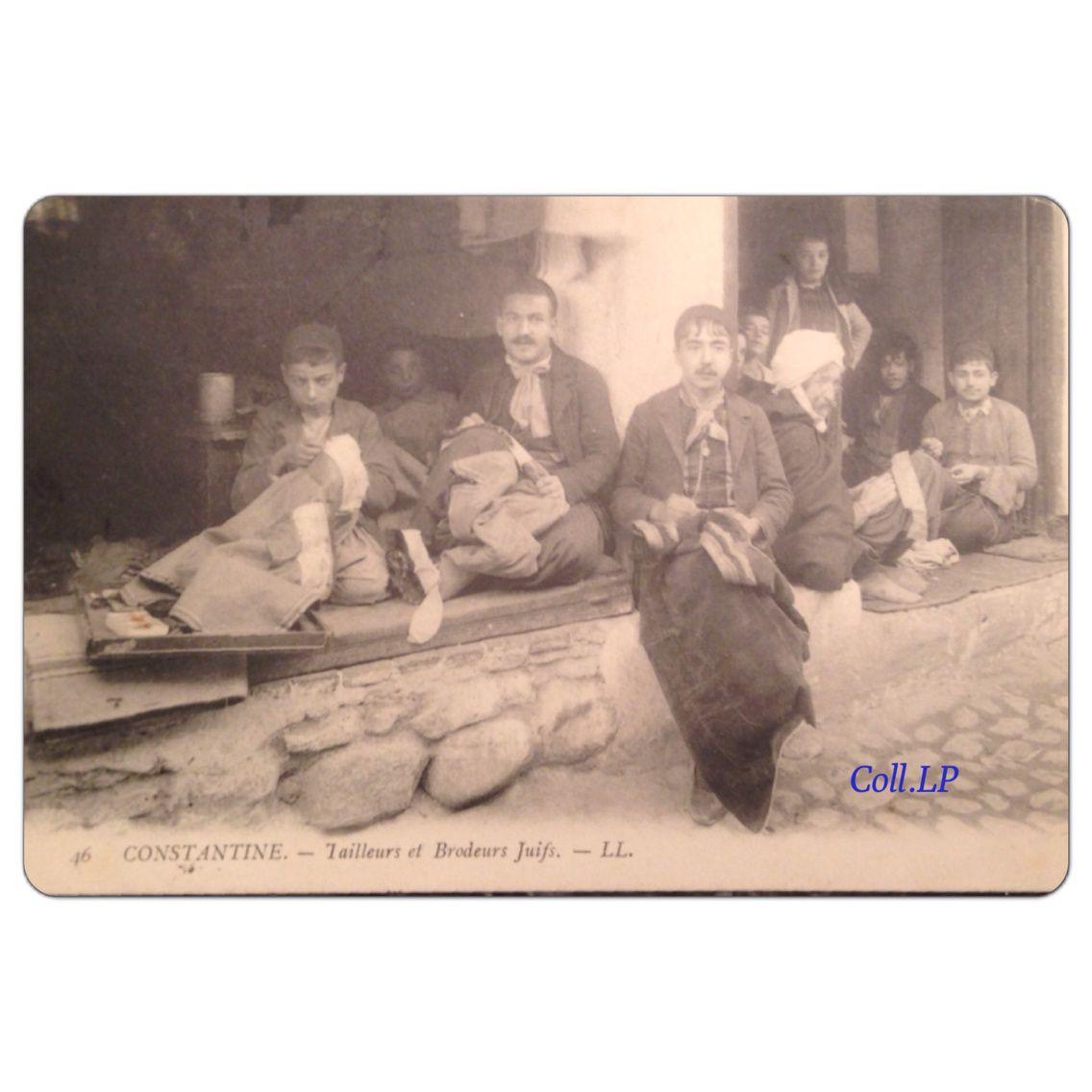 Les Juifs de Constantine, Algérie, vers 1900