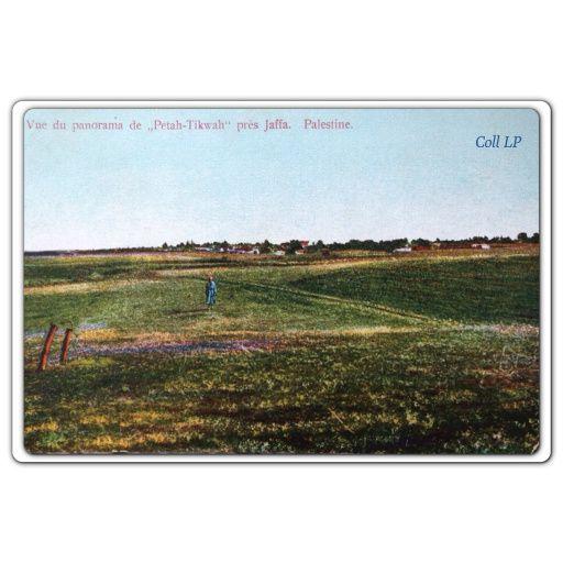 Carte 37:  Vue du panorama de Petah Tikwah près de Jaffa