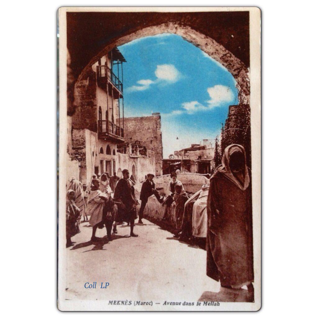 La vie des juifs de Meknès au début du XXème Siècle