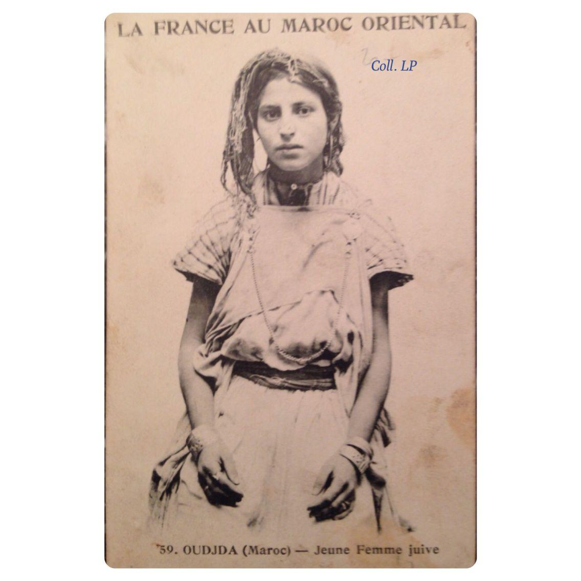 11 portraits de femmes Juives de Oudjda au Maroc