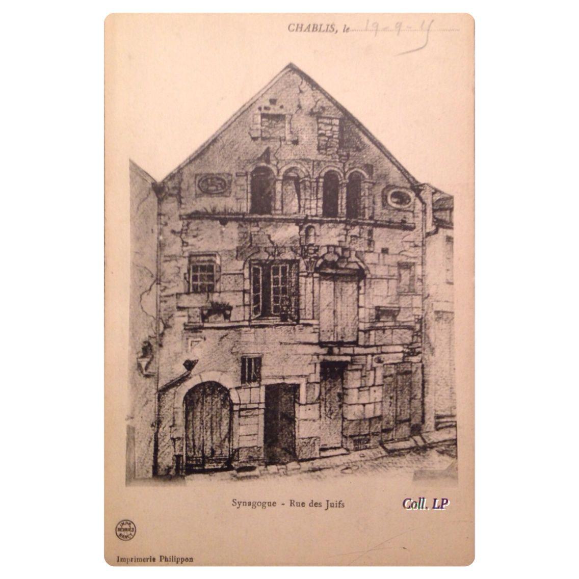 Synagogues en Bourgogne. Chablis et Dijon.
