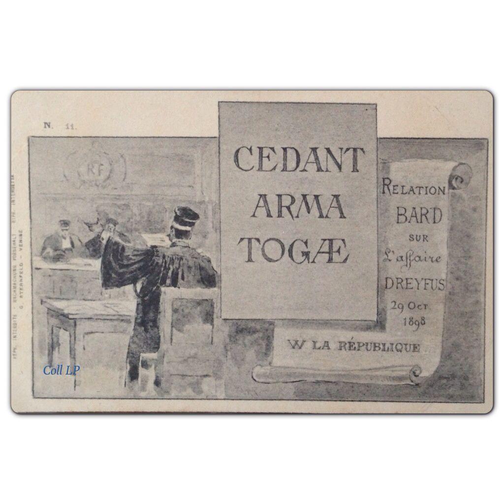L'Affaire Dreyfus en 12 cartes postales d'époque.