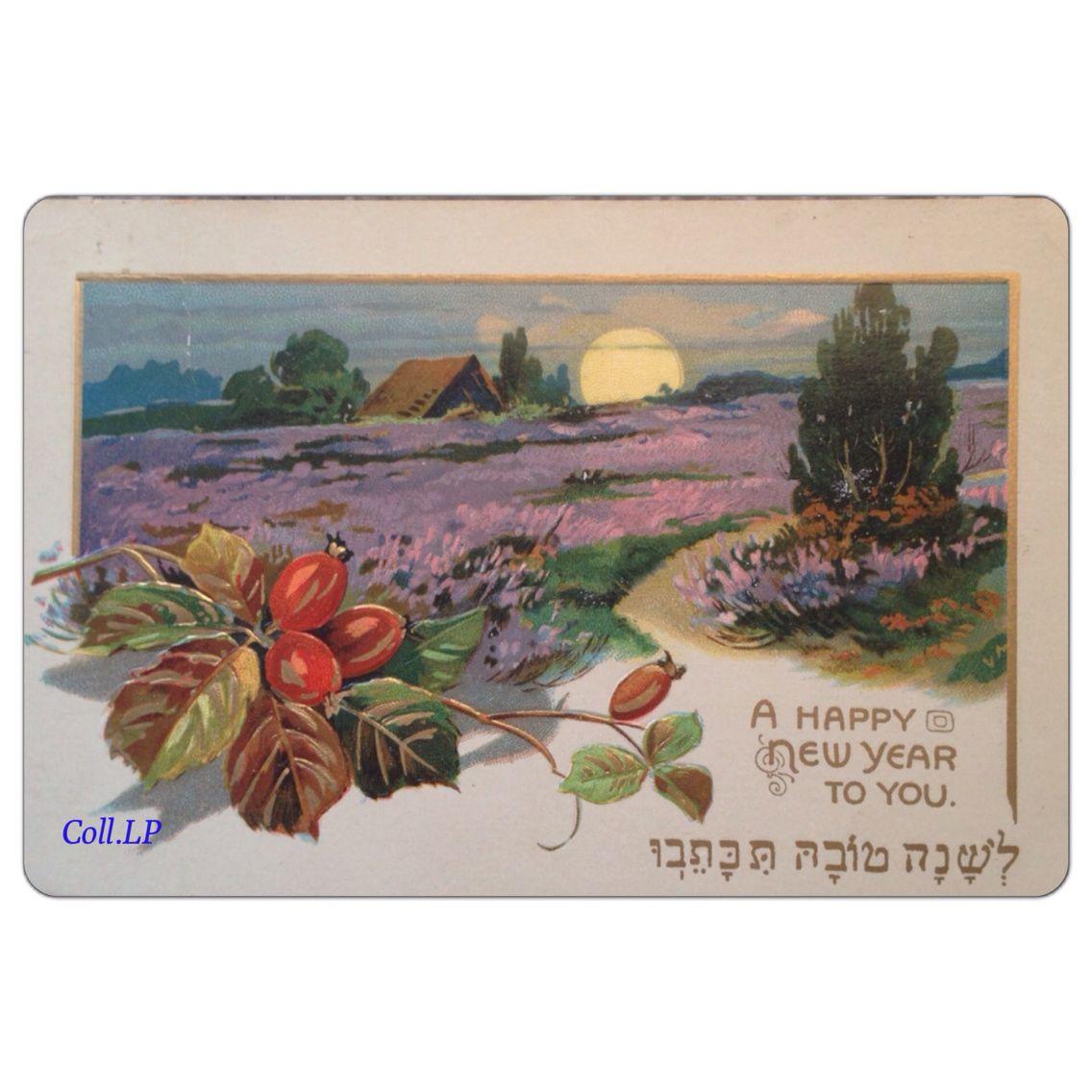 Bonne année 2014 en 9 cartes postales chanatova début 20ème siècle