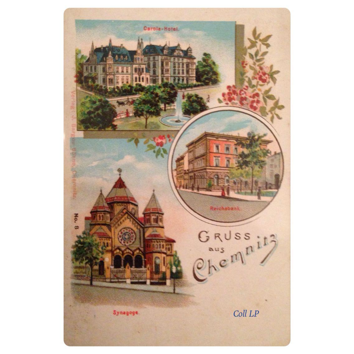 14 cartes postales de Synagogue en Allemagne. Villes de A à C