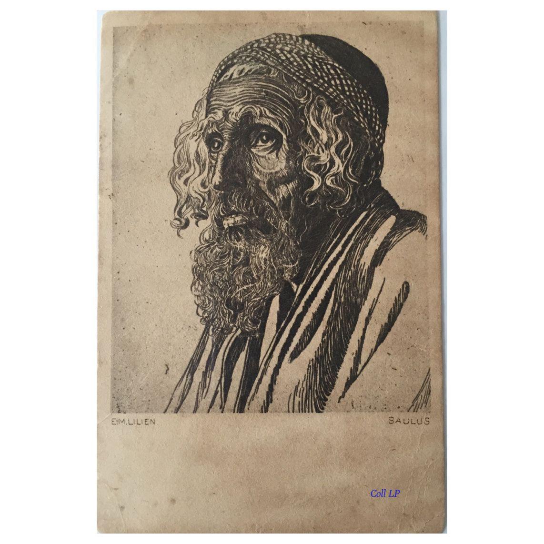 &quot&#x3B;Eretz Israel und sein Volk &quot&#x3B;10 premières cartes sur 100 de Lilien.