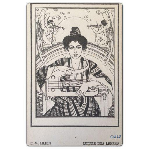 E.M. Lilien. Un illustrateur de l'art déco Judaica.