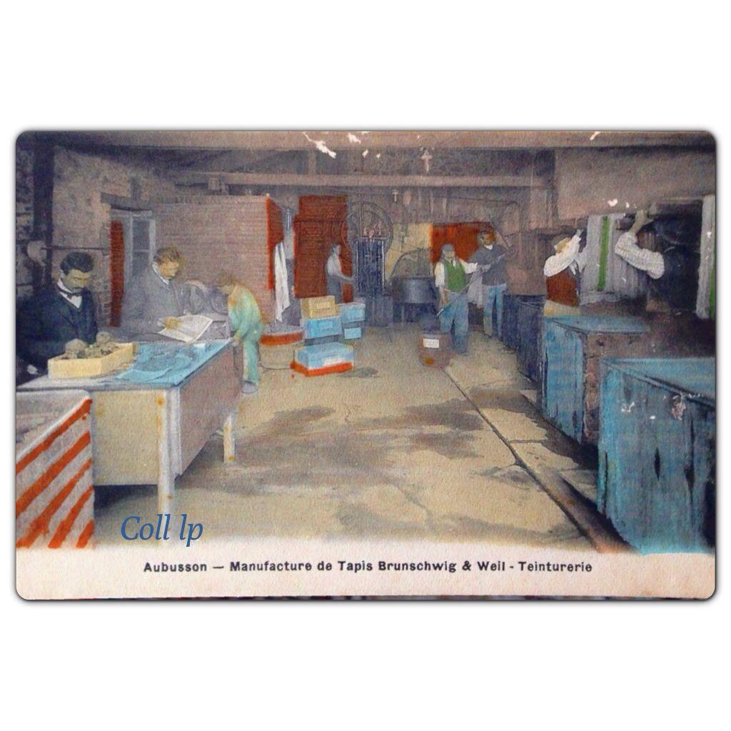 Brunschwig &amp&#x3B; Weil. Manufacture de Tapis à Aubusson