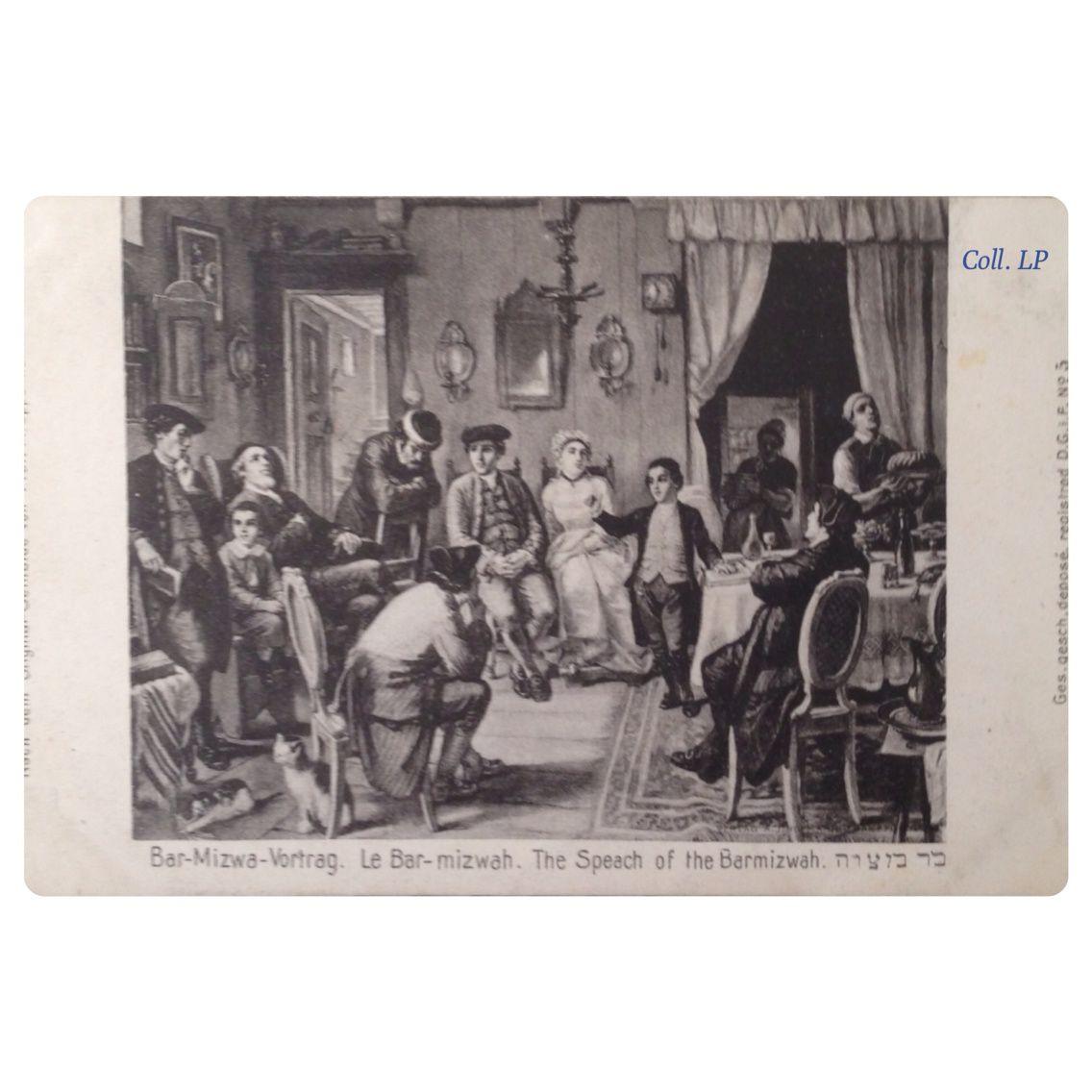 Scènes de la vie Juive en Allemagne d'après les gravures de M. Oppenheim