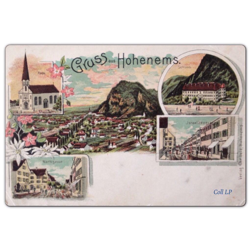 Présence Juive en Autriche par la carte postale