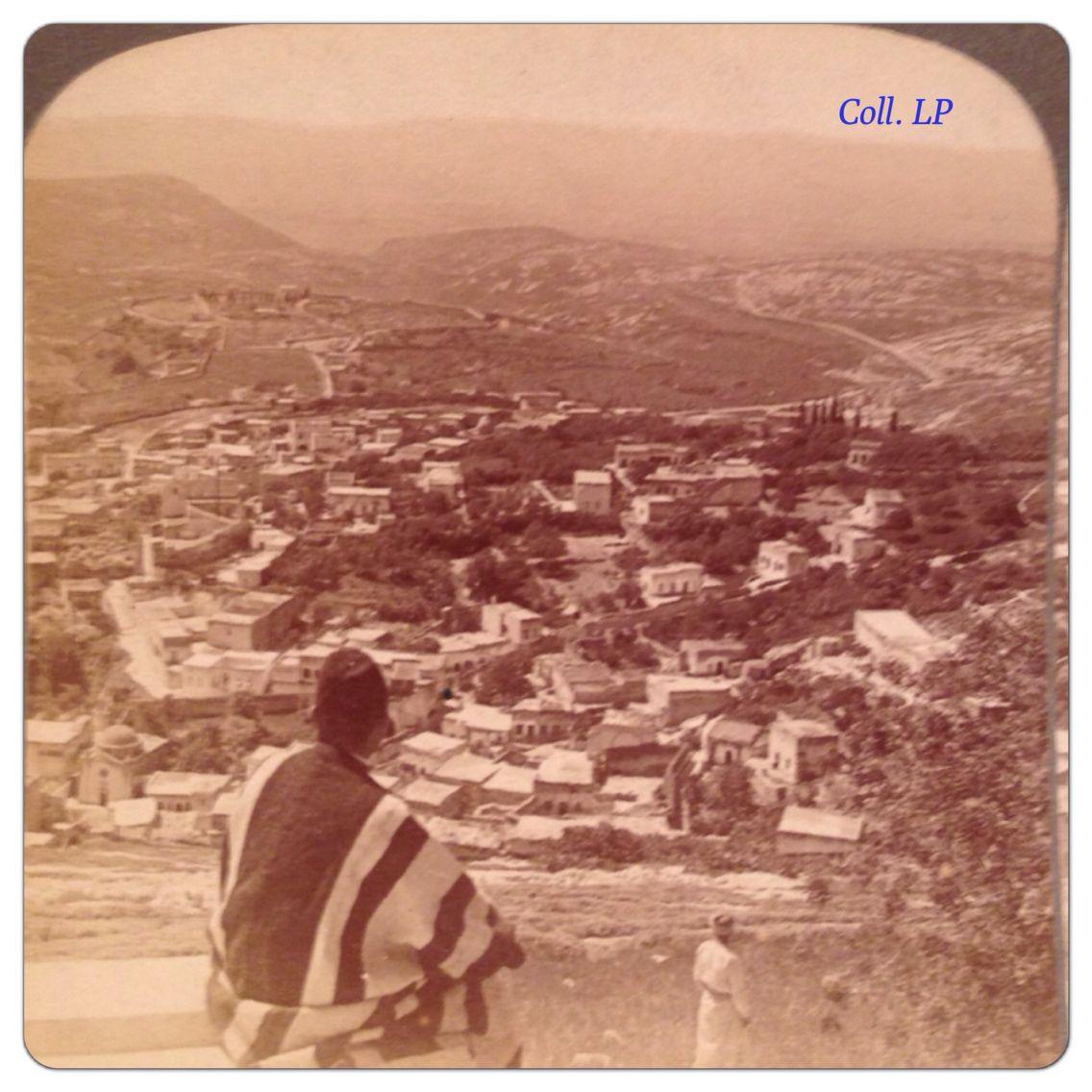 Une promenade exceptionnelle en Israël au XIX siècle. 1/2