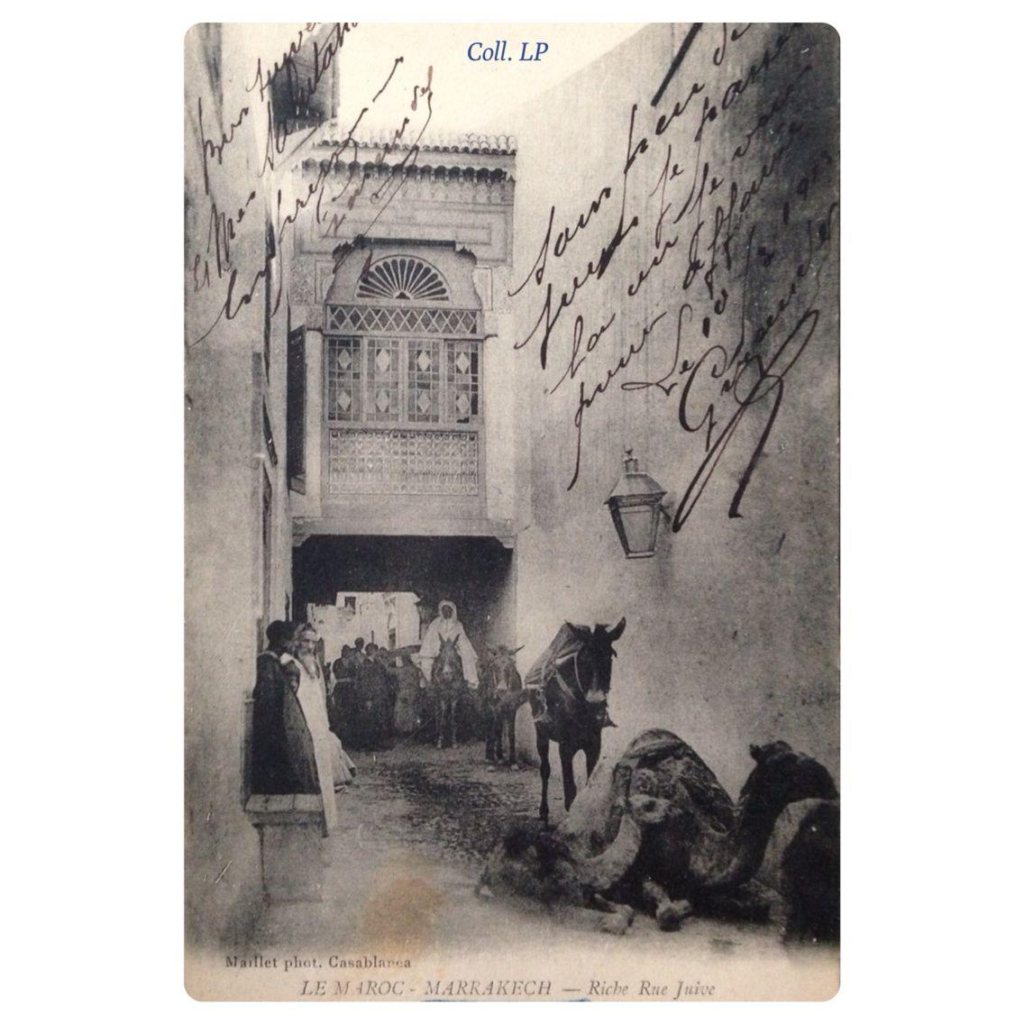 La vie des Juifs de Marrakech au début du XXème siècle