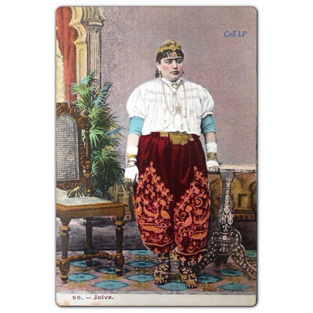 Les juifs de Tunisie en 1900. Photographe Garrigues
