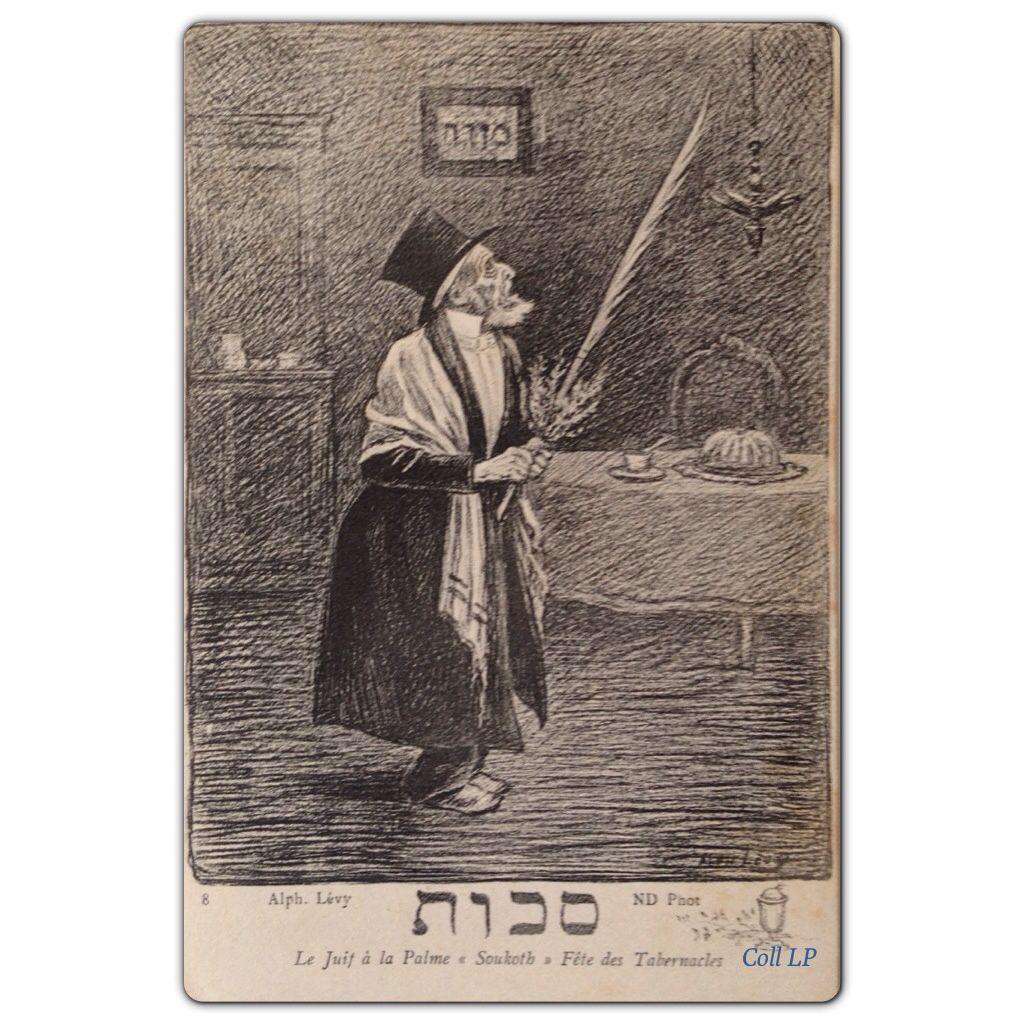 Série exceptionnelle , les Juifs Alsaciens dessinés par Alphonse Lévy au XIX eme siècle.