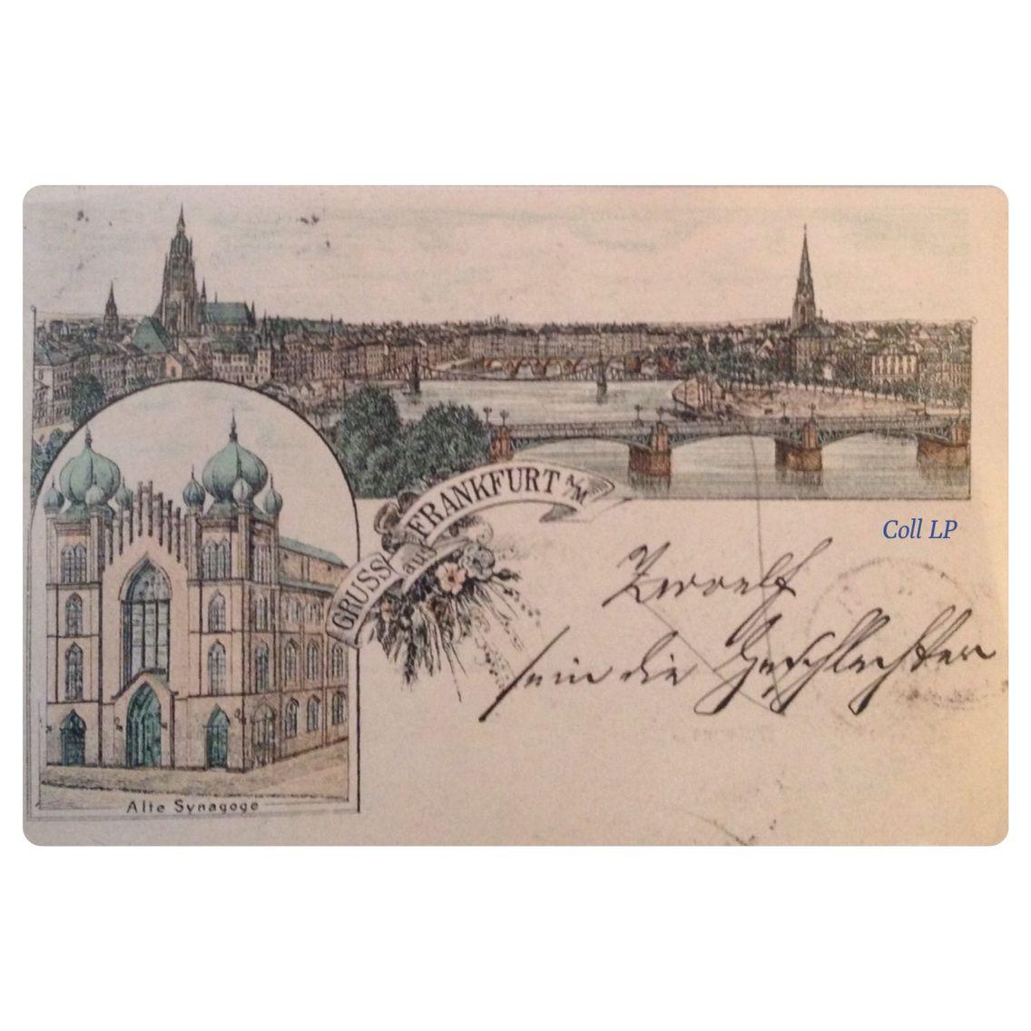 13 cartes postales de Synagogue en Allemagne. Villes de D à F