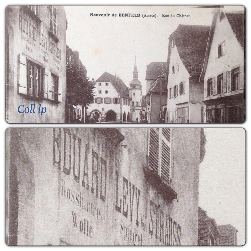 Magasins et vie Juive en France. B 1/2