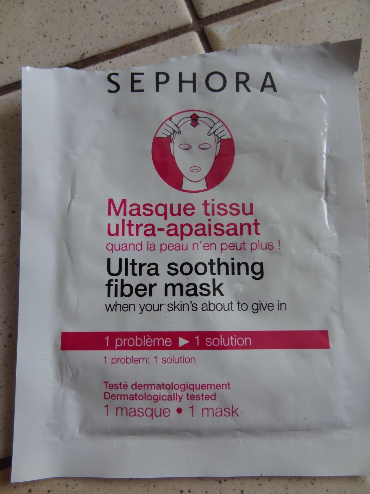 Masque tissu ultra-apaisant Sephora