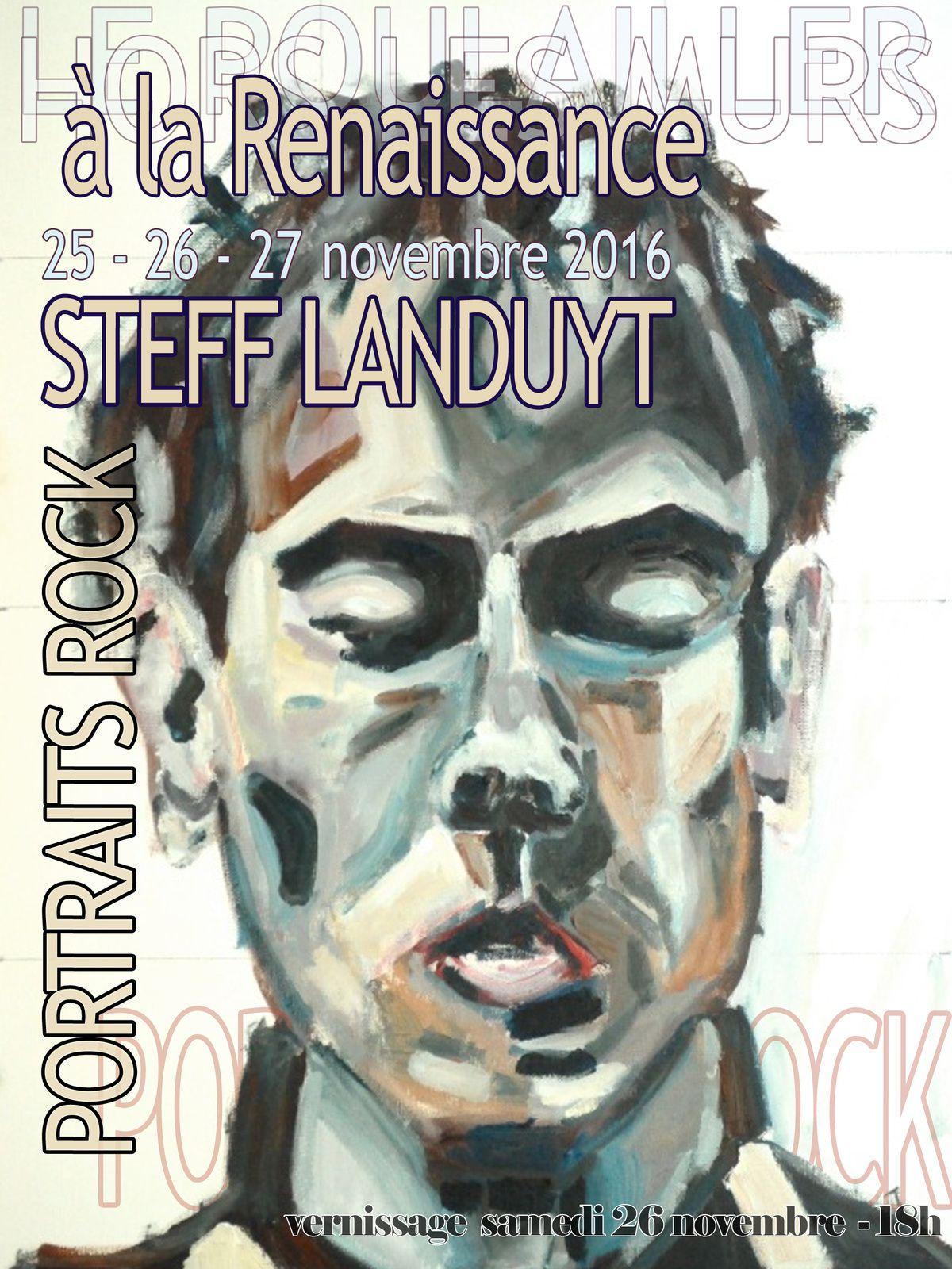 Steff Landuyt - Peter Murphy, janvier 2015