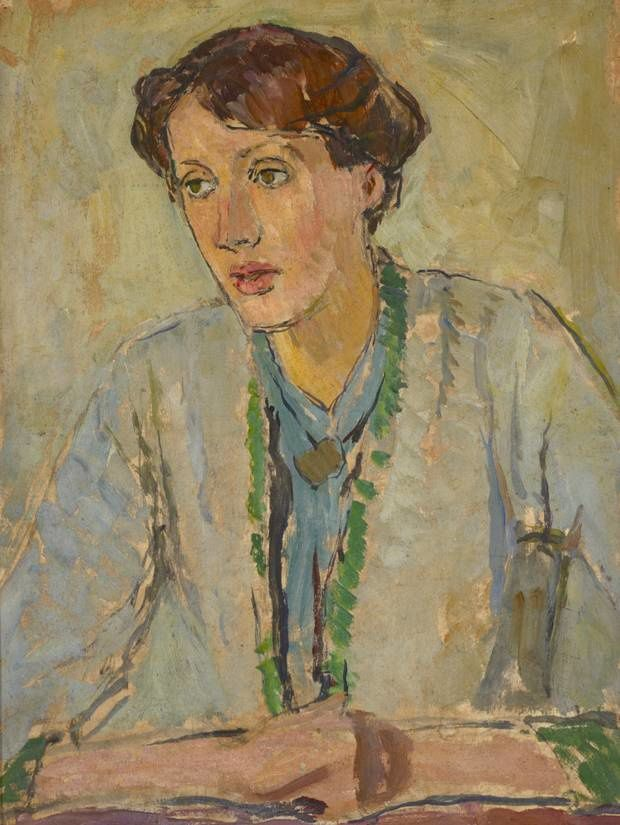 Virginia Woolf at the National Portrait Gallery