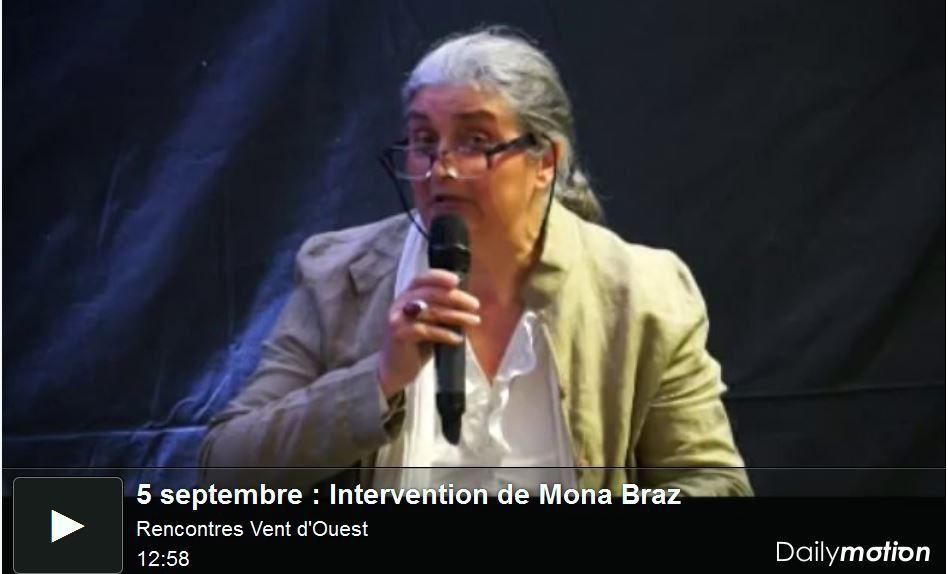 Intervention de Mona Bras au colloque Vent d'Ouest le 4 septembre 2013.