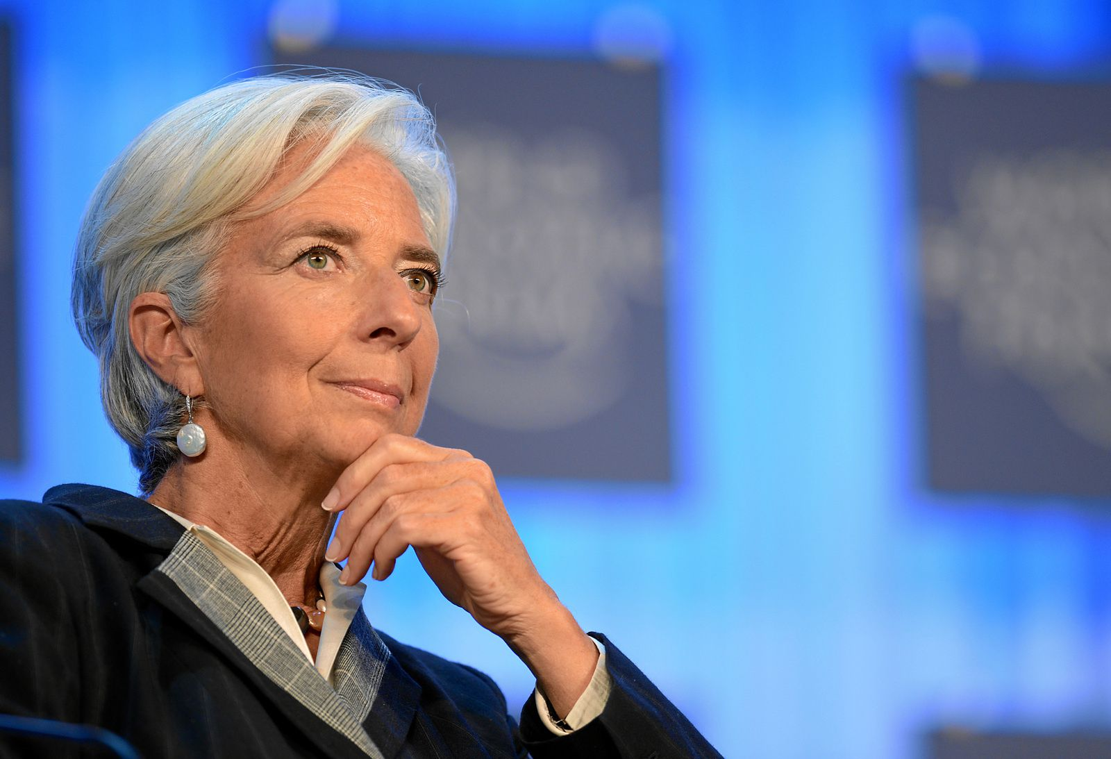 Christine Lagarde, Directrice générale du Fonds Monétaire International ( FMI )