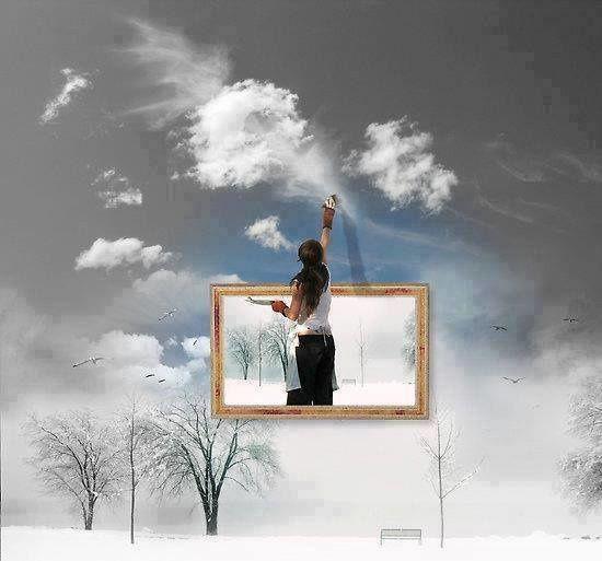 Tes paroles sont votre pinceau, et votre vie est votre toile...