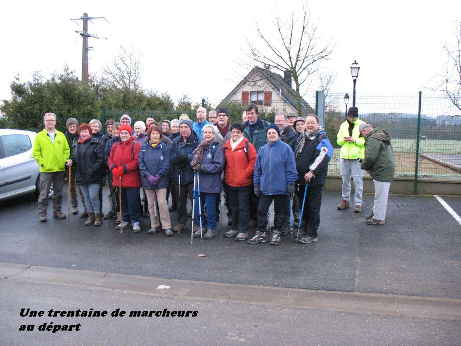 A dimanche 9 février pour la marche de Joël à Charleville route de Monthermé